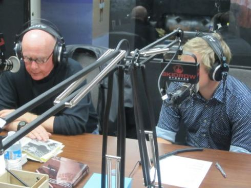 Justin Maurer interviewing legendary L.A. writer Dan Fante on Skid Row Radio
