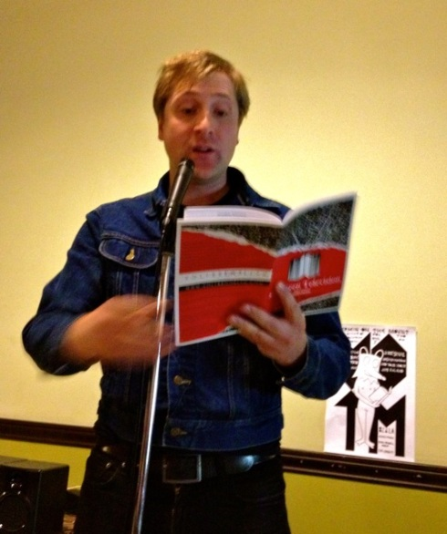 "Reading ""Mexico City"" at Vermin On The Mount, Echo Park, Los Angeles"