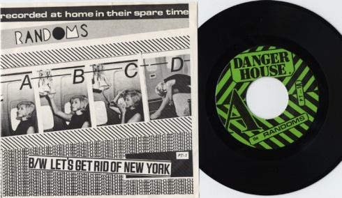 "The Randoms ABCD 7"", Dangerhouse Records 1977"