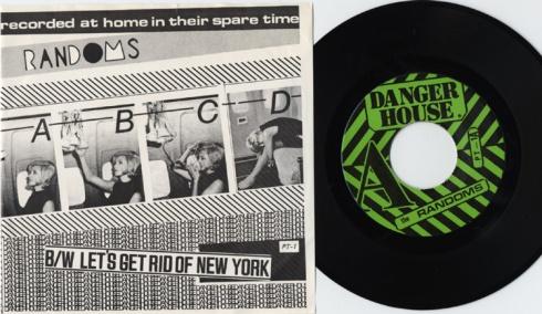 "The Randoms ABCD 7"", Dangerhouse Records 1977"