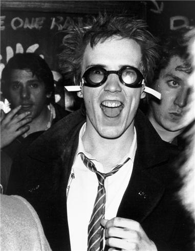 Johnny Rotten by Bob Gruen. Atlanta, 1978.