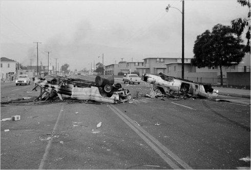 Riot Torn Watts, 1965. Photo by Harold Filan/Associated Press