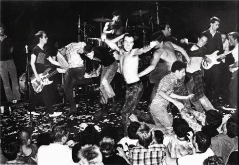 Dead Kennedys by Edward Colver. Los Angeles. 1982