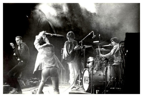 The Who by Henry Diltz. Monterey Pop festival, 1967.
