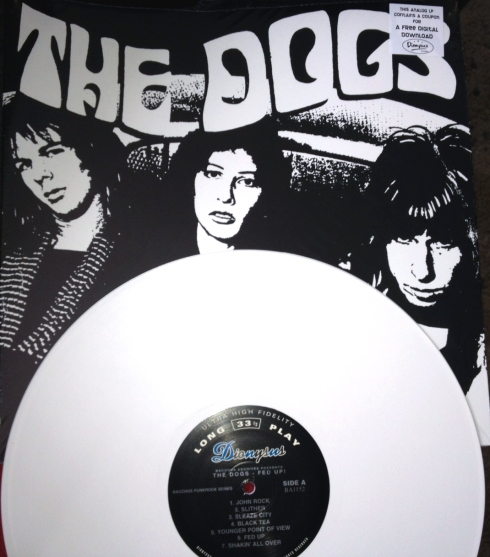 The Dogs Reissue on Dionysus Records