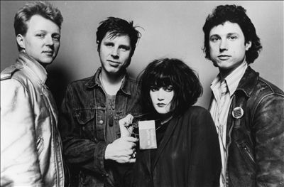 X (L to R Billy Zoom, John Doe, Exene Cervenka, DJ Bonebrake)