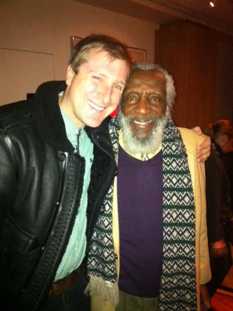 Hanging with Dick Gregory