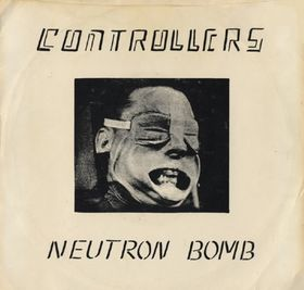 "The Controllers 1st 7"" released on What? Records in 1977"