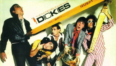 "Album cover photo for 1979's ""The Incredible Shrinking Dickies""  Best cover photo ever?"