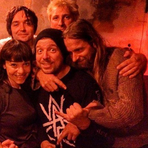 Sophia, Michl, Herbie, Sulli, Justin in Munich