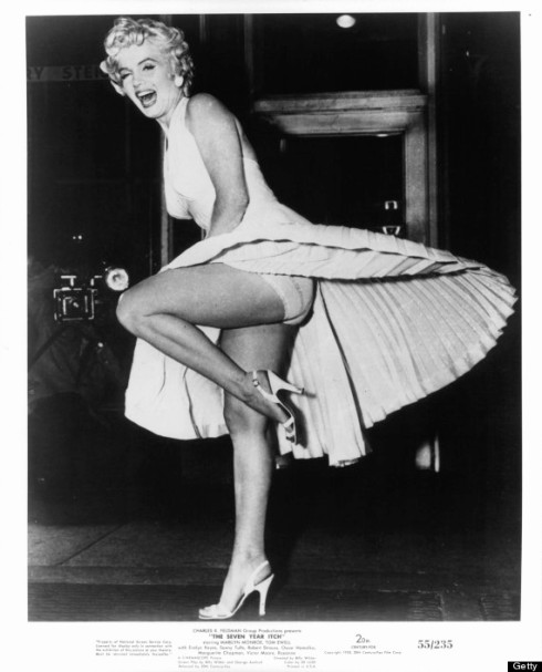 Marilyn Monroe In 'The Seven Year Itch'